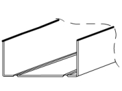UW track wall profile