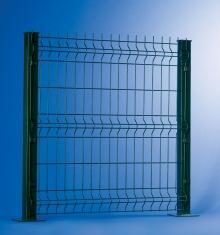 Rivapan SPD - Единично оградно пано с два реда хоризонтален тел в извивките