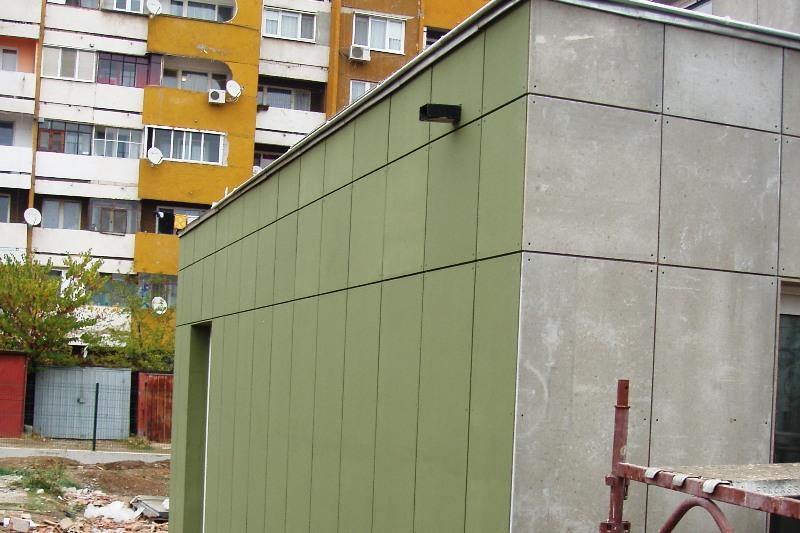 Фасада циментфазер Бетопан