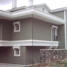 Фасадна обшивка от циментфазер с имитация на дърво - Yalipan Klasik / Ялъпан Класик