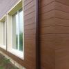 """Фасадна обшивка от циментфазер с имитация на дърво Ялъпан / Yalipan - тип """"американски сайдинг"""""""