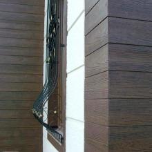 """Фасадна обшивка от циментфазер с имитация на дърво Ялъпан Ламбалъ / Yalipan Lambali - тип """"американски сайдинг"""""""