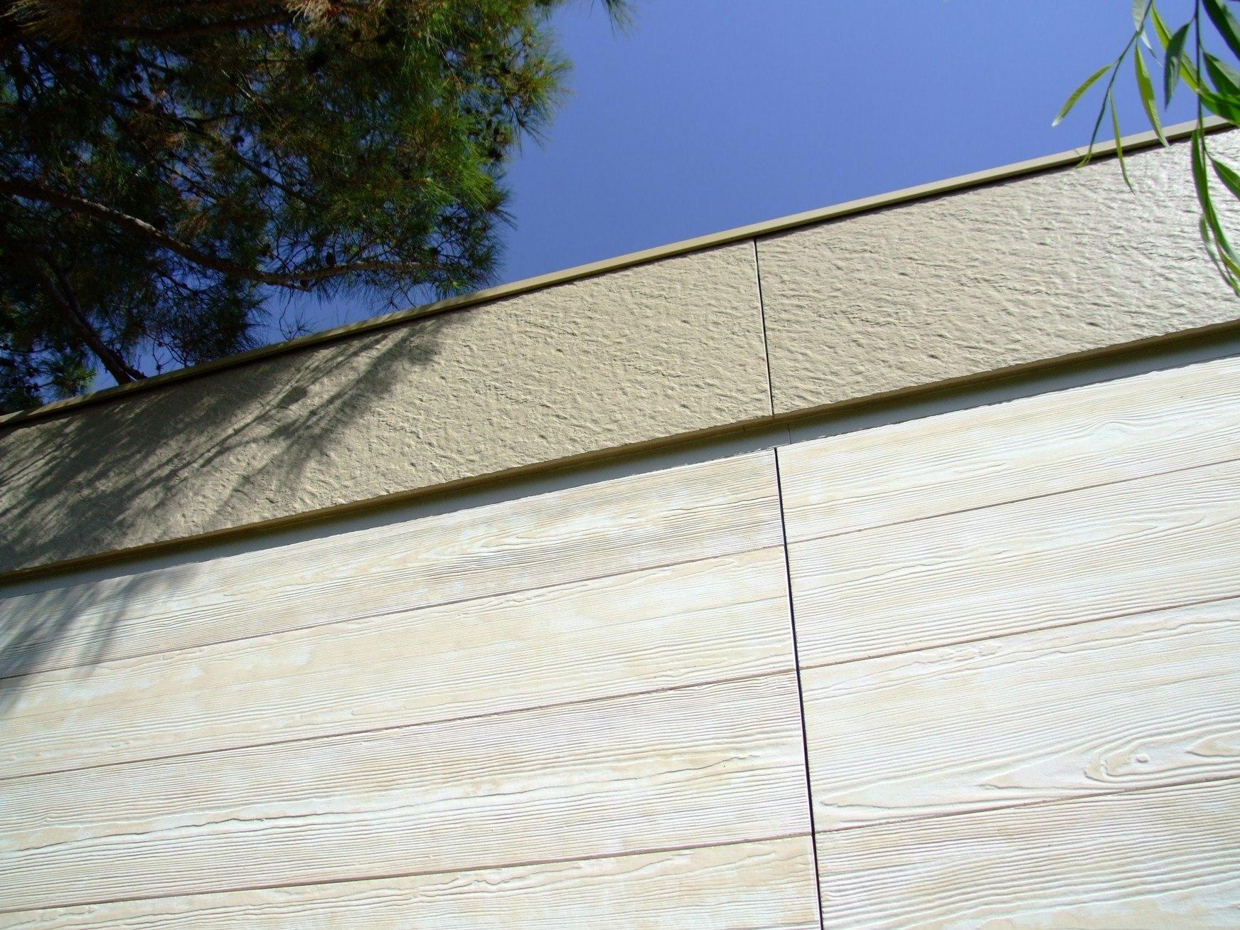 Фасадна обшивка от циментфазер с имитация на дърво - Yalipan Lambali/ Ялъпан Ламбалъ