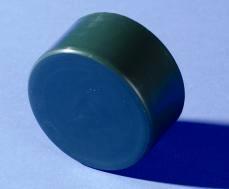 Полиамидна капачка за кръгъл стълб ф48мм TR, зелена