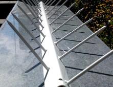 Стенни шипове срещу прескачане на огради