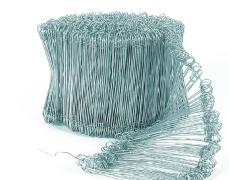 Инструменти 960491 Телени връзки с ПВЦ покритие 1,45х200мм, зелени, 1000бр. плетена оградна мрежа арматура