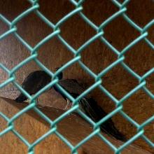 Плетена оградна мрежа с PVC покритие